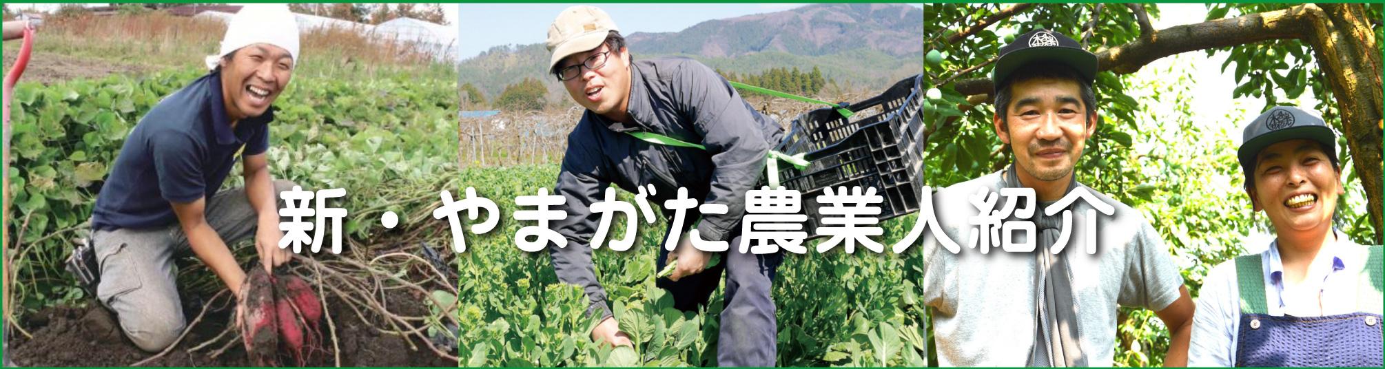 「新・やまがた農業人」紹介