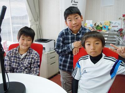 小学生のお友達が遊びに来てくれました