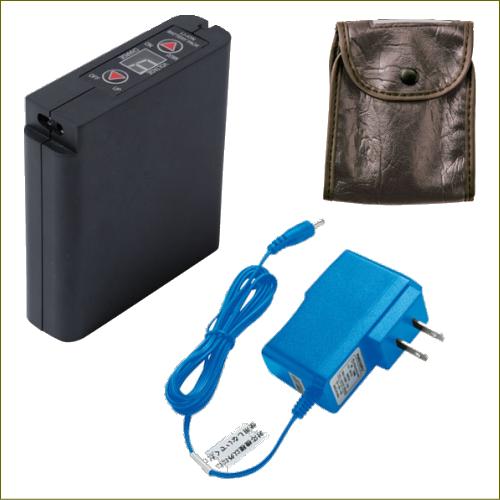 空調服 リチウムイオン大容量バッテリー 比較:画像