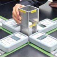 放射線の特性実験セット:画像
