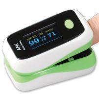 ワンタッチで酸素を図る オキシチェッカー:画像