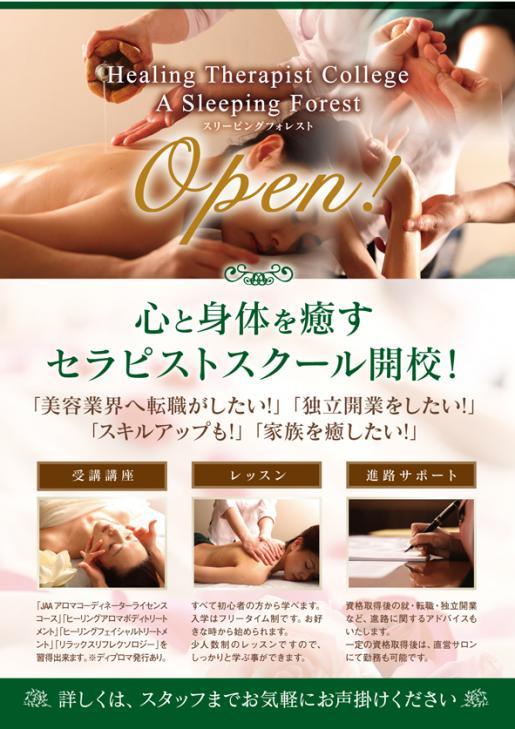 2015/03/01 12:31/心と身体を癒すセラピストスクール開校!