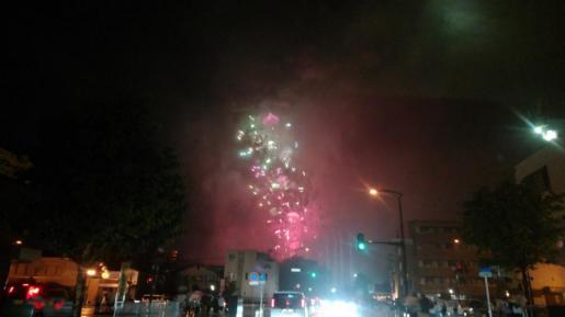 2021/08/15 05:07/☆山形大花火大会(^o^)☆