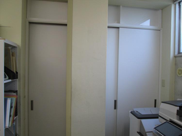 三枚引き違い戸交換工事:画像
