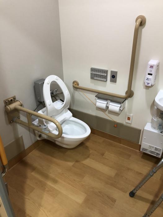 車いすトイレの設計:画像