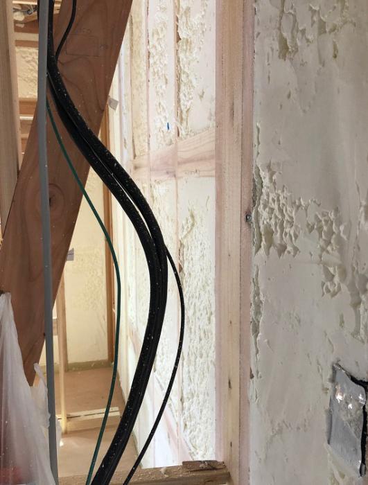 現場断熱チェックとスキップフロアのアパート設計:画像