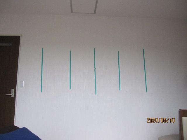 壁に額や時計を掛けたい時の下地の見つけ方:画像