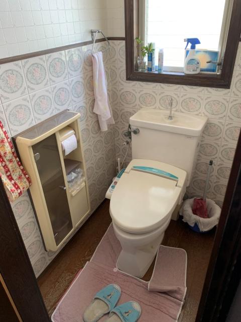 新しいトイレに!:画像