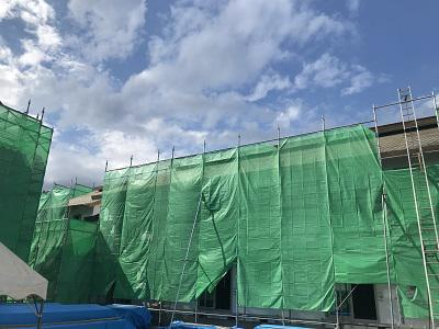 山形の新築アパート工事進行中�!!:画像