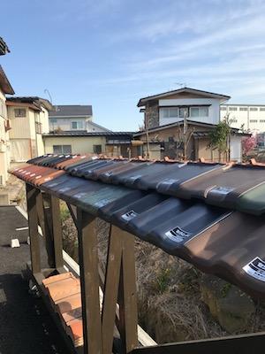 〜瓦屋根のサンプル〜:画像