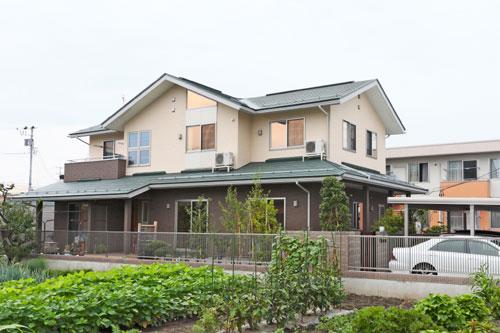 3世帯同居型のセカンドリビングのある家  / 山形市0様邸:画像