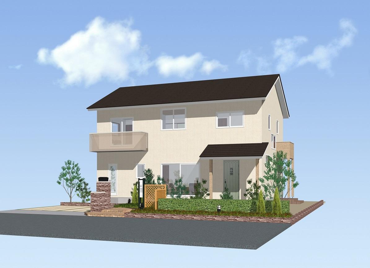 コンパクトな玄関共有型/2,273万円+税:画像