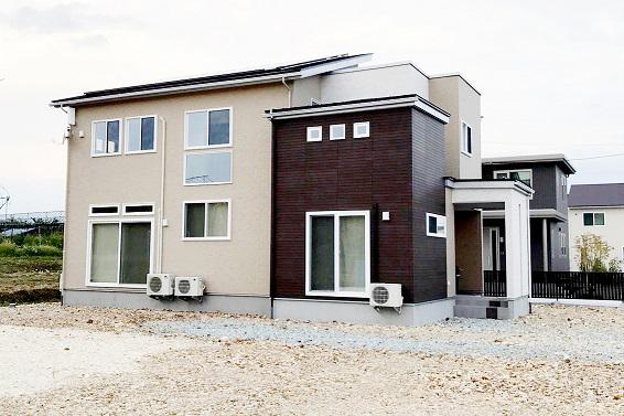 コミュニケーションのとれる同居型二世帯住宅:画像