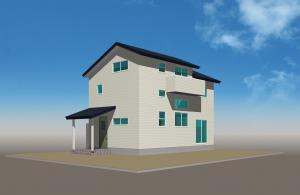 12/16(日)完成内覧会『青い屋根が爽やかなよいいえLimited30C(中間収納)』:画像