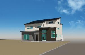 5/6(祝)完成内覧会『モノトーン調外観の中間収納とセカンドリビングのある二世帯住宅』:画像