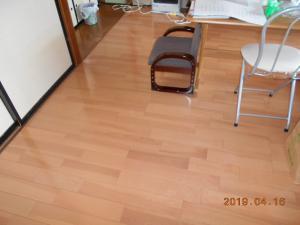 床張替え工事:画像
