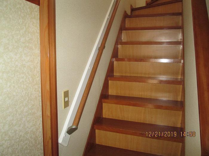 階段手摺設置工事:画像