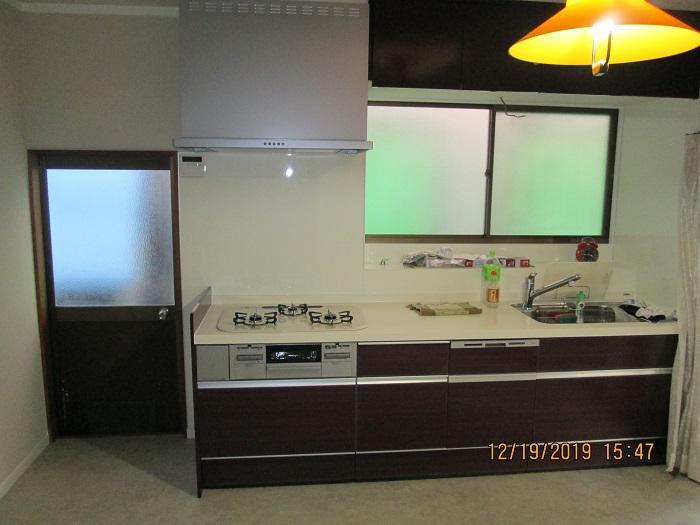 ダイニングキッチン改装工事:画像