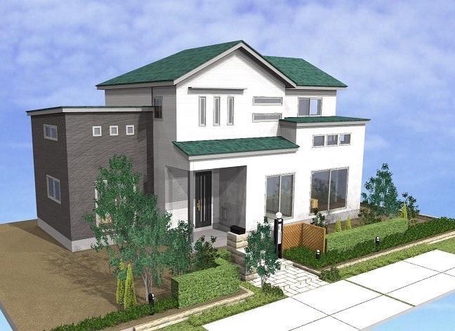 収納と生活動線を配慮した同居型/2,291.9万円+税:画像