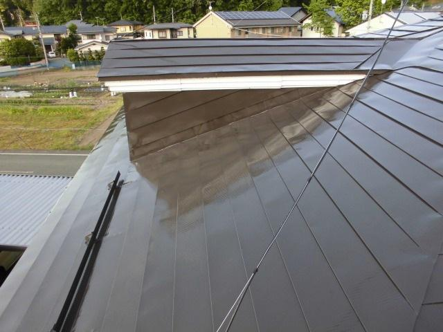 屋根塗替え工事:画像