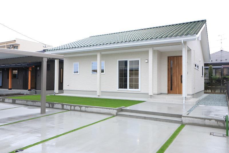 平屋Free〜洋風瓦の家〜:画像