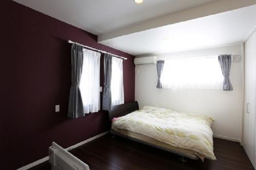 プライバシーに考慮し、1階に配置した寝室:画像