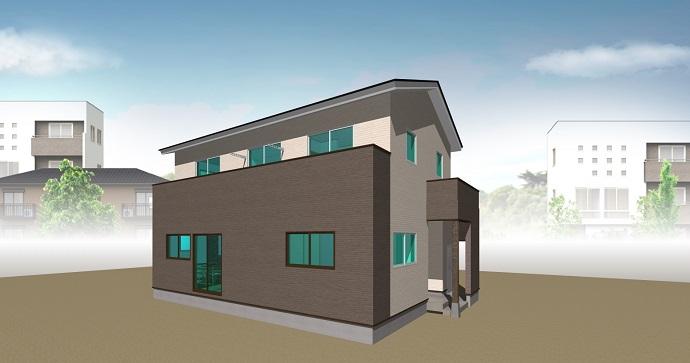 回廊型生活動線の家
