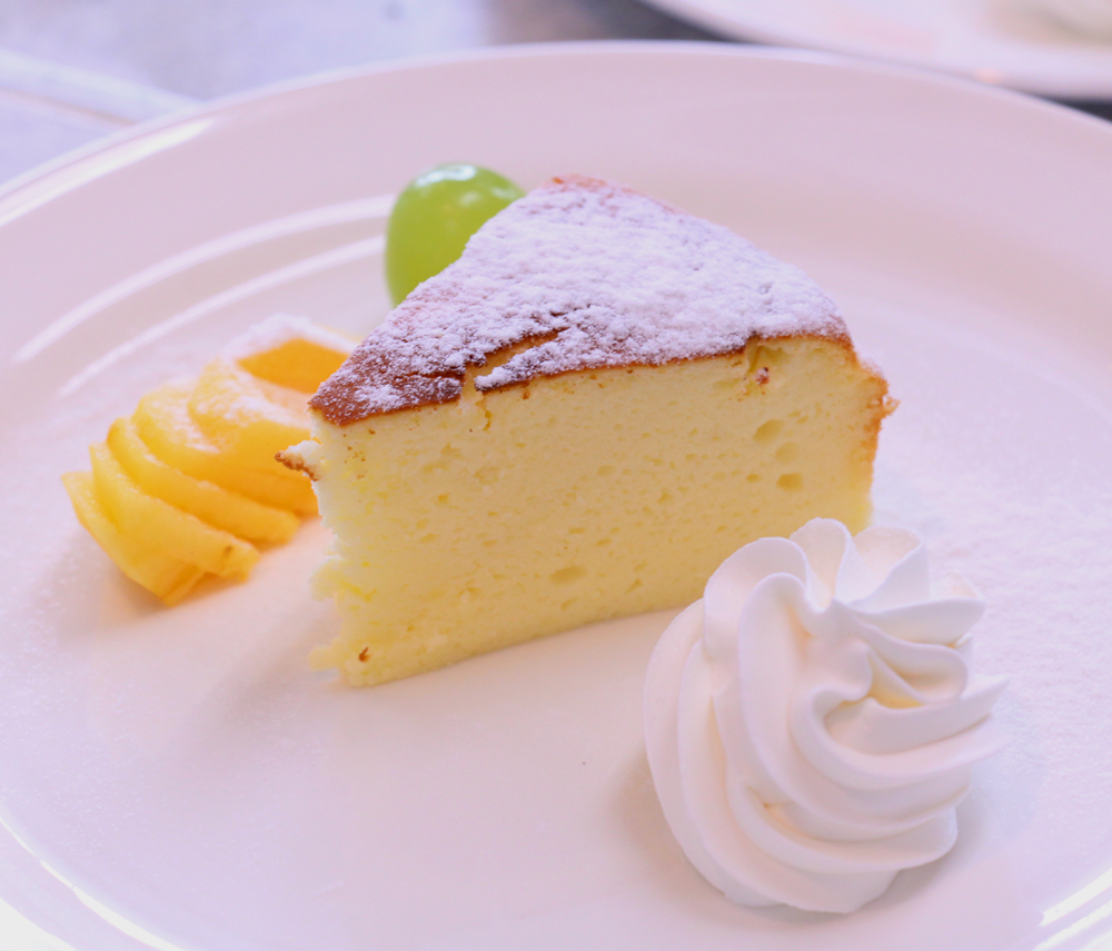 《米粉レシピ》鳥海高原ヨーグルトと米粉のチーズスフレ:画像