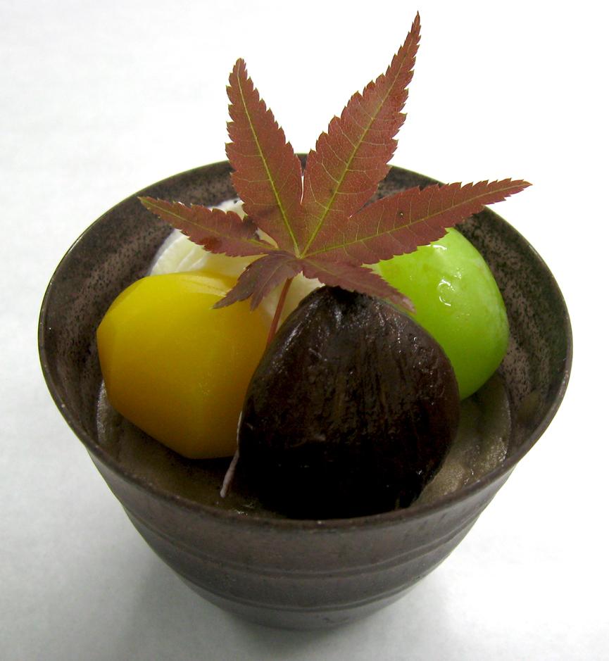 《米粉レシピ》玄米粉のおしるこ風デザート:画像