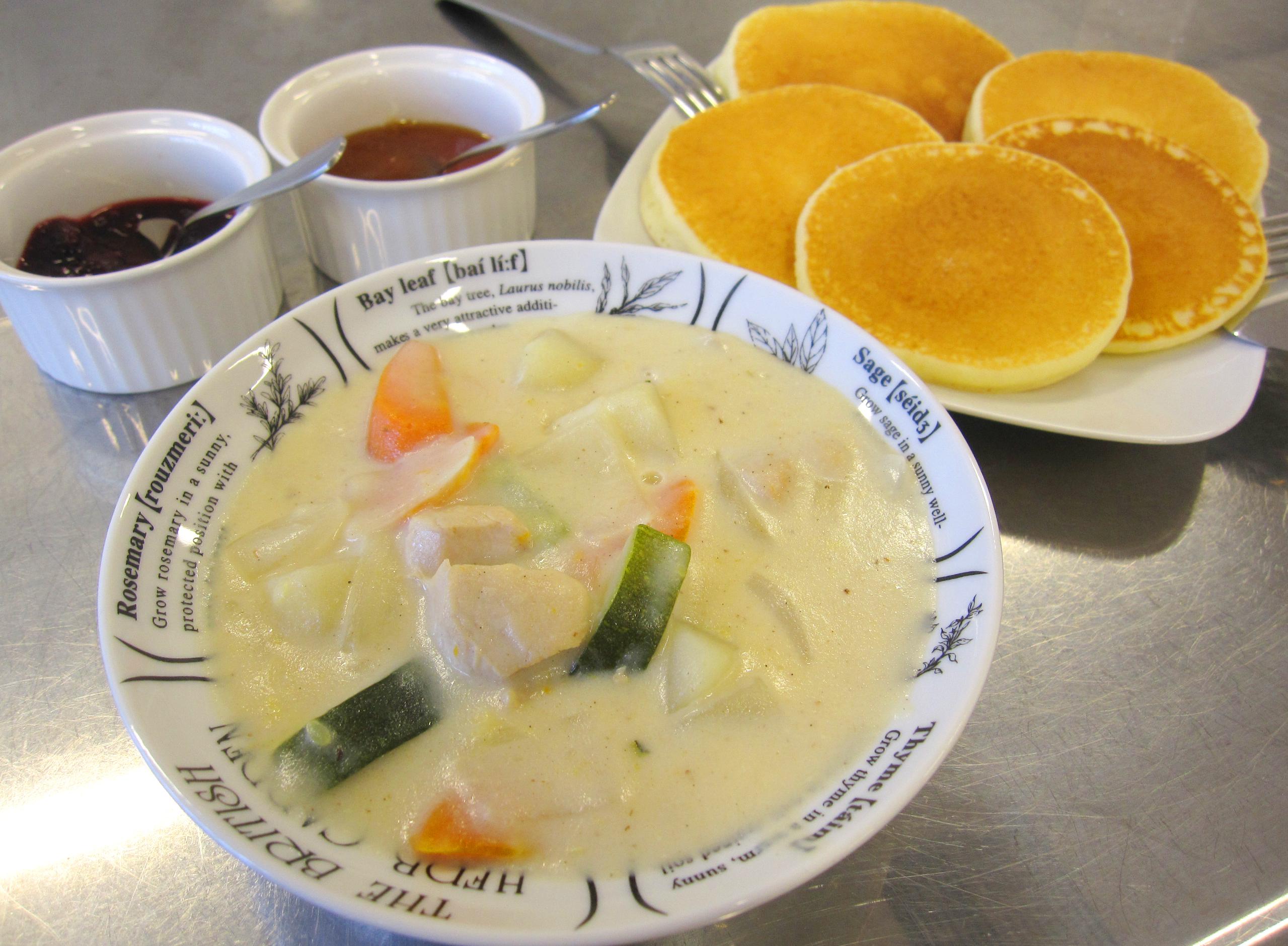 《米粉レシピ》野菜たっぷり米粉シチュー:画像