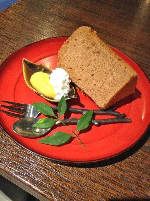 蔵オビハチ/山形米粉のシフォンケーキ:画像