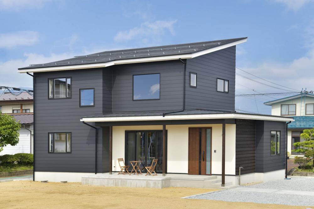 【長井市】モデルハウス