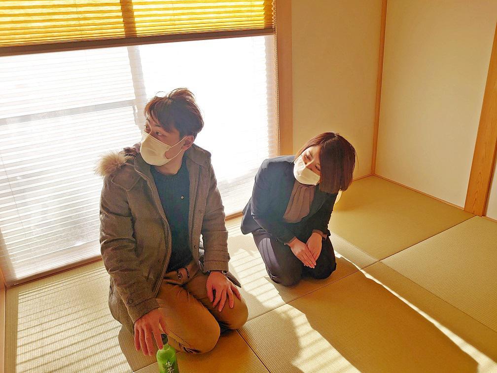 仙台放送の撮影が入りました♪IN錦ケ丘モデルハウス