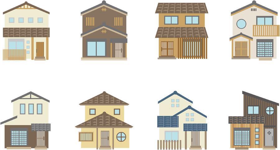 住宅工法の違い:画像