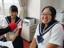 【7/31】長井工業の生徒さんが学校説明会の案内に来てくれま..:画像