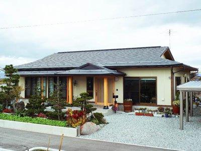 杉無垢材をふんだんに使用した寛ぎの和風住宅 / 山形市H様邸:画像