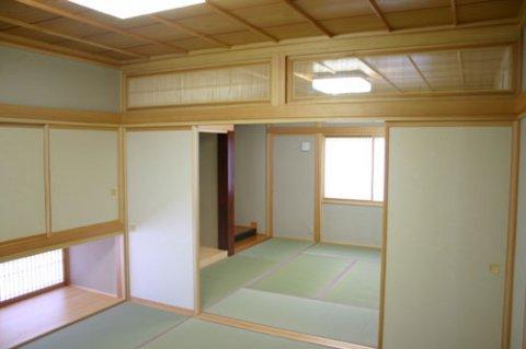 2間続きの和室:画像