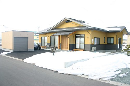 LDKと和室が回遊する平屋の家 / 東根市T様邸:画像