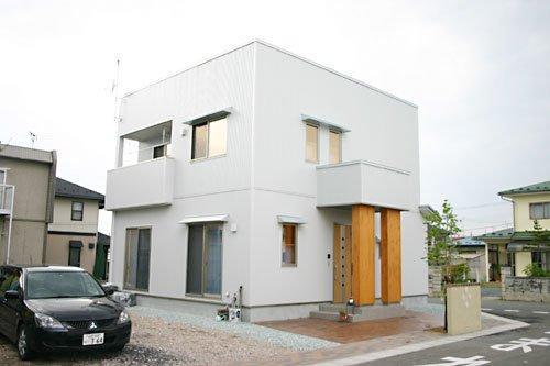 キュービックシルバーデザイン住宅 / 山形市T様邸:画像