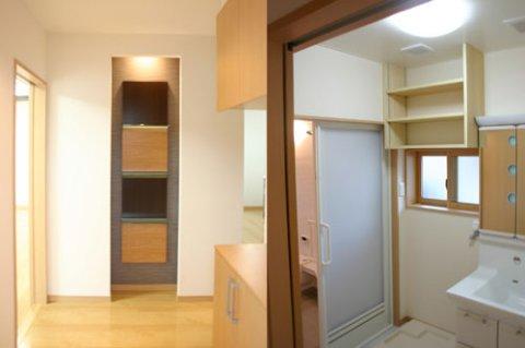玄関ホール・洗面室:画像