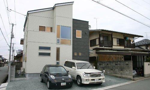 らせん階段のある超モダン住宅 / 山形市T様邸:画像