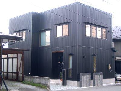 市街地に建つ光風のある2Fリビングの家 / 山形市T様邸:画像