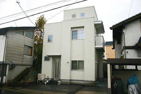 収納たっぷりホワイトキューブハウス / 山形市N様邸:画像