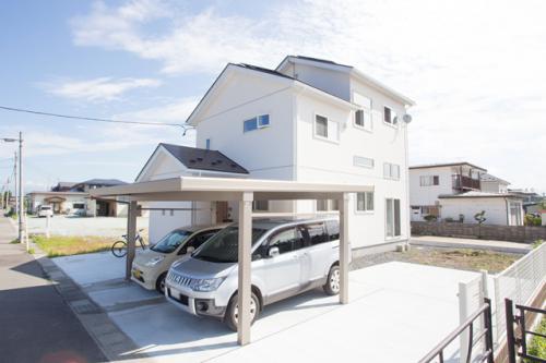 中間収納+スキップフロアのある家 / 山辺町S様邸:画像