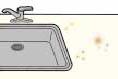 【キッチンの悩み】 人工大理石カウンターの表面が汚れてしまった:画像