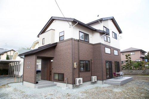 床暖房+中間収納+5層スキップフロアのあるチューダースタイルの家 / 東根市Y様邸:画像