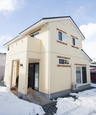 フル遮熱+床暖房+オール引戸の南欧風瓦スタイルの家 / 天童市S様邸:画像