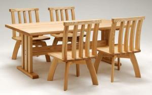 ダイニングテーブル(2脚):画像