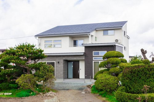 収納力を重視した二世帯住宅:画像
