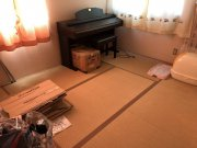 重いピアノ設置に伴うフローリング工事:画像